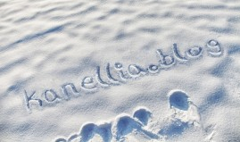 snow writing